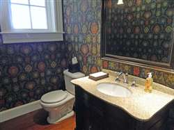 2 pc powder room on main level